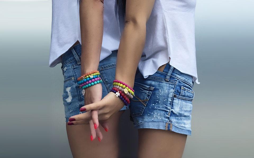 Choose Your Happy Candy Bracelets